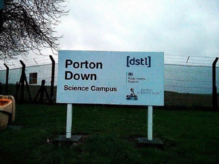 Секретные документы военной химической лаборатории в Портон-Дауне оказались на помойке