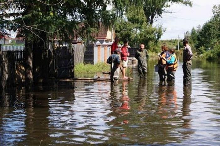 Уровень воды в реках Иркутской области продолжает снижаться