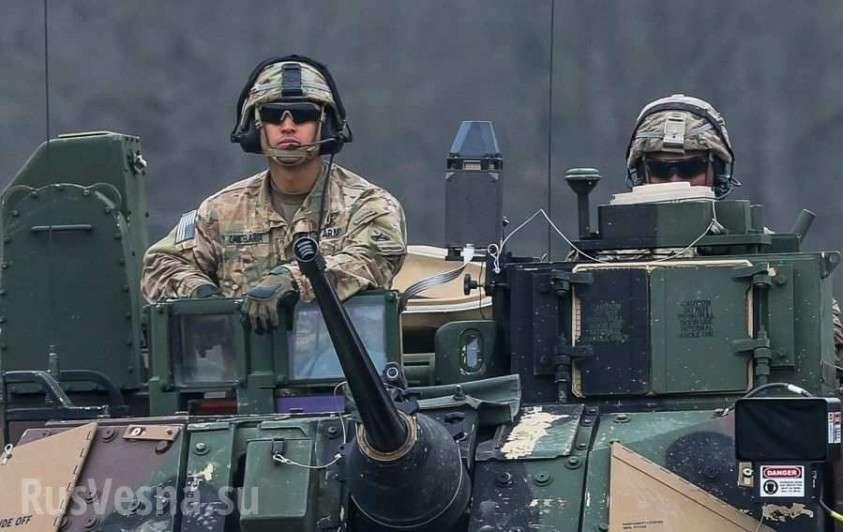 Сирия: армия США и боевики пускают ракеты по пустыне