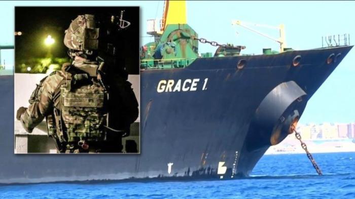 Иран грозит на задержание танкера захватить британское судно