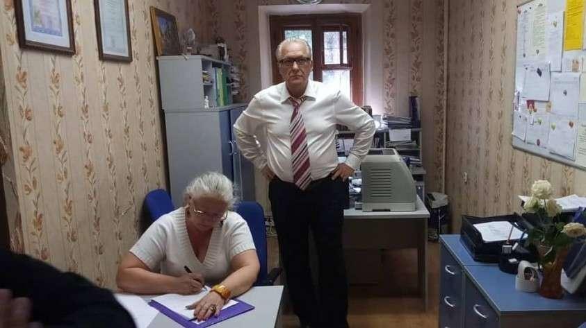 Ректор ИНЭКБИ Виктор Подобедов и его заместитель Светлана Попонина