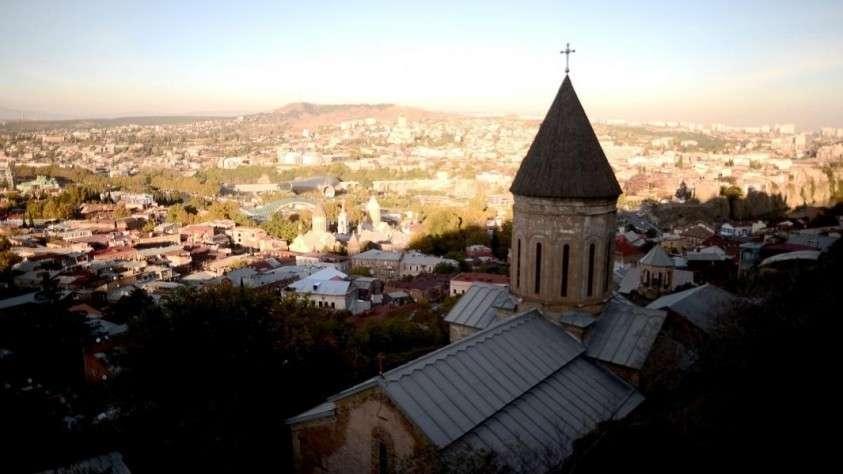 грузия пейзаж
