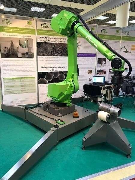 Представлен первый в России мобильный робот для лазерной обработки металлов