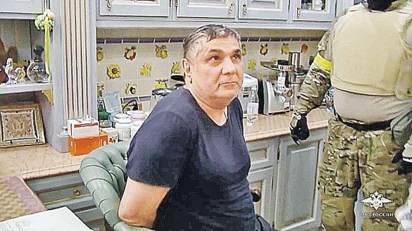 Арест и обыск дома вора в законе по кличке Шакро Молодой (на фото). Фото: МВД РФ