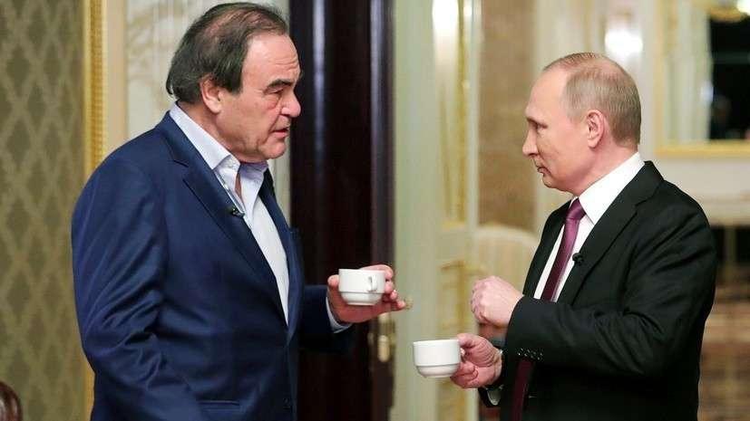 Владимир Путин дал интервью Оливеру Стоуну для нового документального фильма об Украине