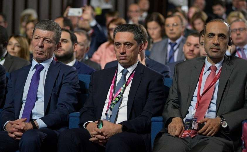 Участники II Глобального саммита по производству и индустриализации (GMIS).