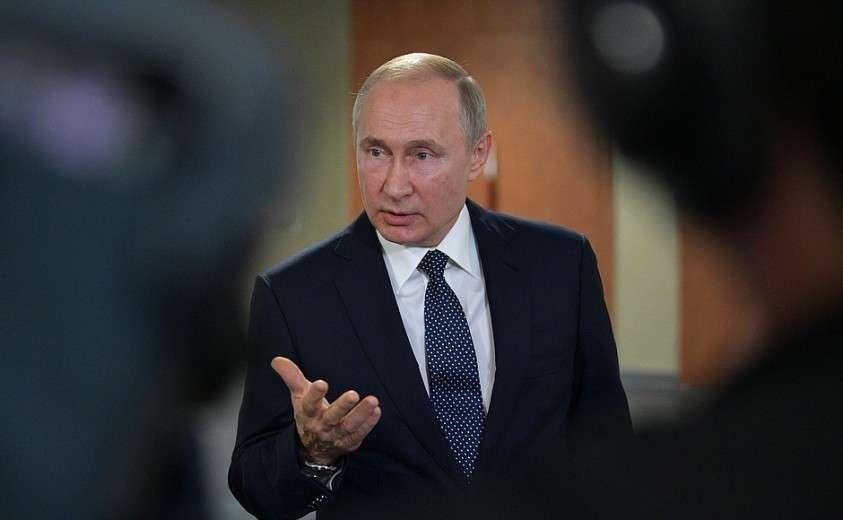 На встрече с российскими журналистами.