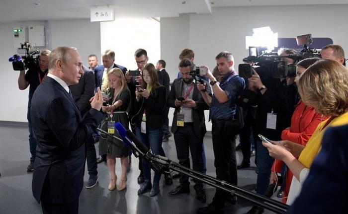 Владимир Путин прокомментировал ситуацию с Грузией