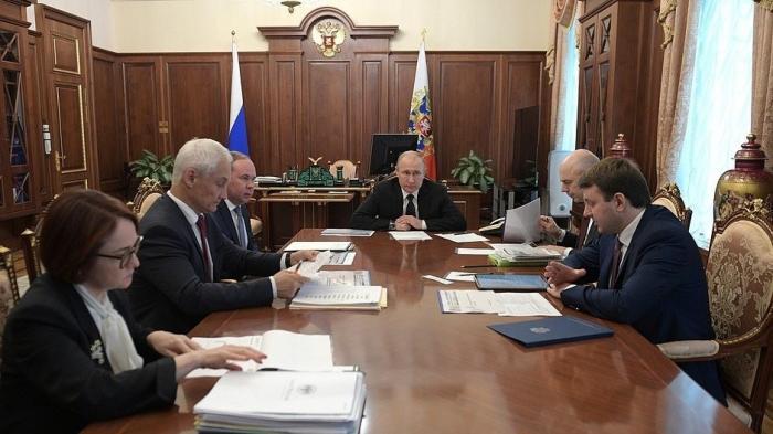Владимир Путин провёл совещание по экономической ситуации в России