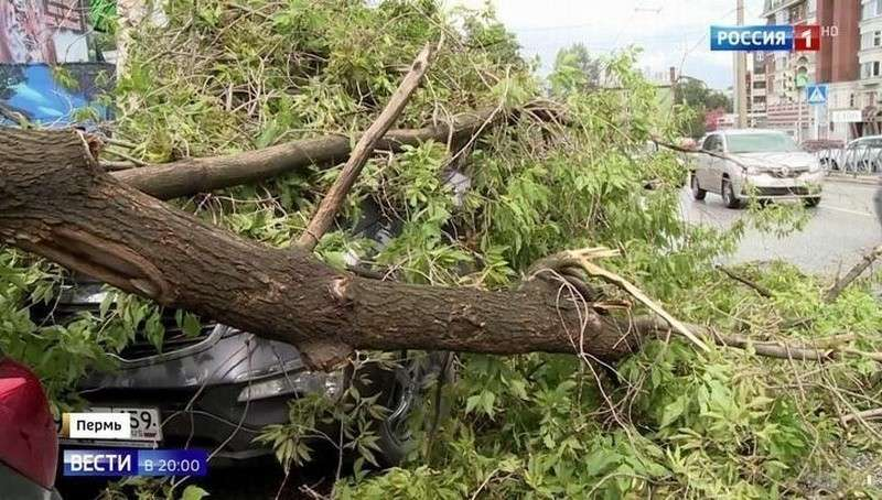 Сильный град и ураган сегодня прошли сразу по нескольким регионам России