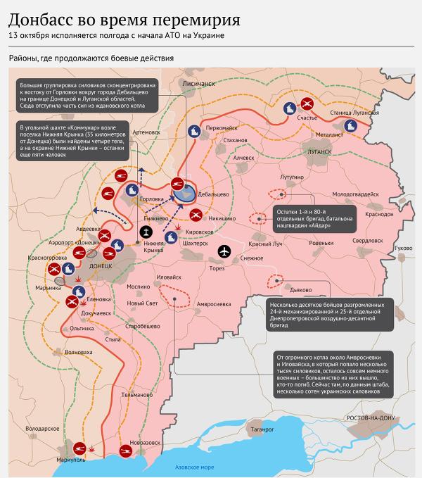 Киев отозвал подпись под документом о линии раздела в Донбассе