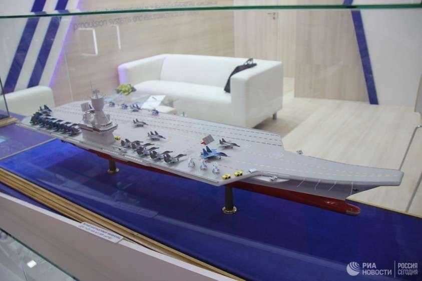 Новый российский авианосец: легкий, неатомный, смертоносный. На что он будет способен?