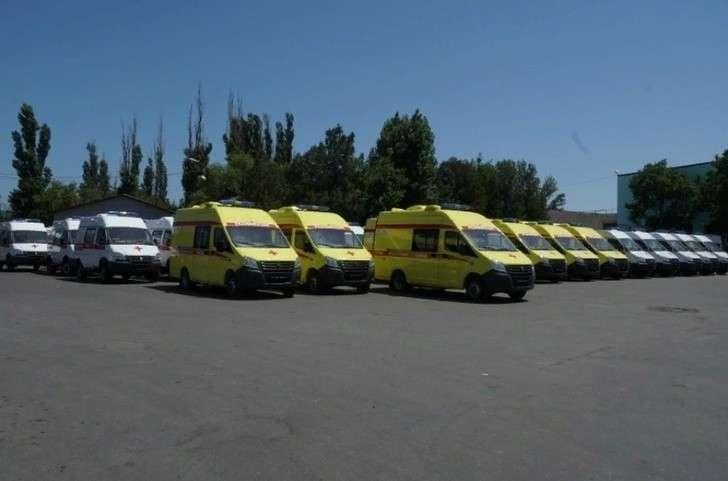 Более 40 автомобилей «скорой помощи» поступили в Дагестан