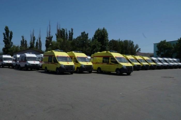 В Дагестан поступили более 40 автомобилей «скорой помощи»