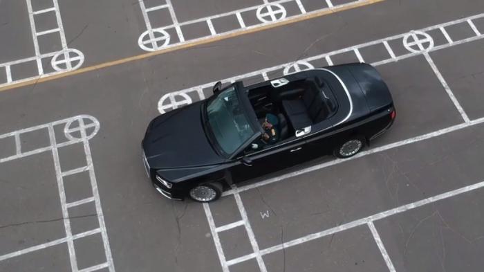 Вальсом на Aurus отметила 75-летие 147-я автомобильная база Минобороны России