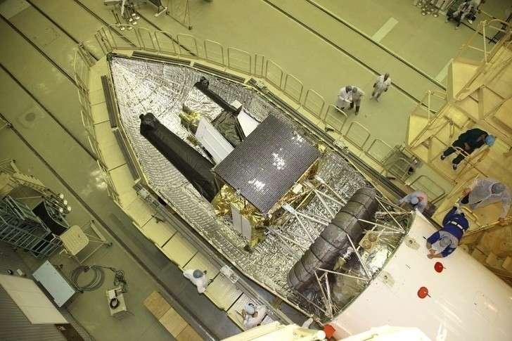 подготовка к пуску ракеты-носителя «Протон-М» с разгонным блоком «ДМ-03» и российской обсерваторией «Спектр-РГ»