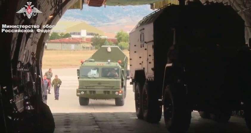 Турция получила седьмую партию российских компонентов С-400