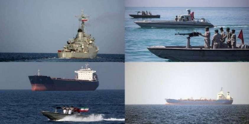 Как Иран напал на английский танкер, не заметив охраняющего боевого фрегата
