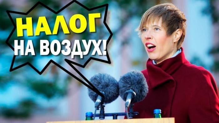 Две Эстонии и налог на воздух: вот до чего дожила Эстония в ЕС