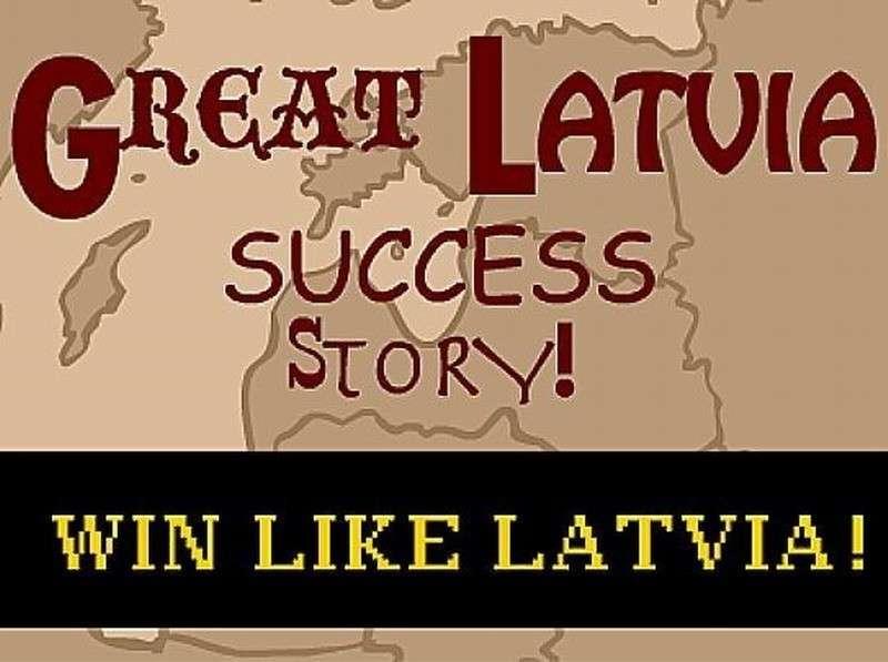 Коварная Россия сдерживает безудержный рост европейской Латвии
