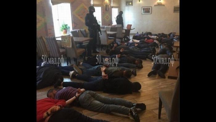 В Люберцах полиция задержала участников «сходки» преступных авторитетов