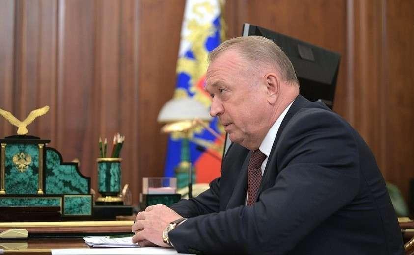 Президент Торгово-промышленной палаты Сергей Катырин.