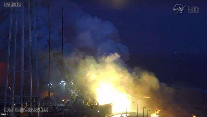 Из-за взрыва Antares астронавтам нечем латать МКС