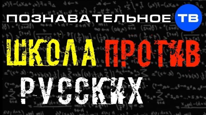 Школа против русских. Образование как инструмент воздействия на людей и государство