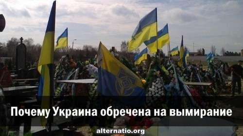 Почему государство Украина обречена на деградацию и вымирание