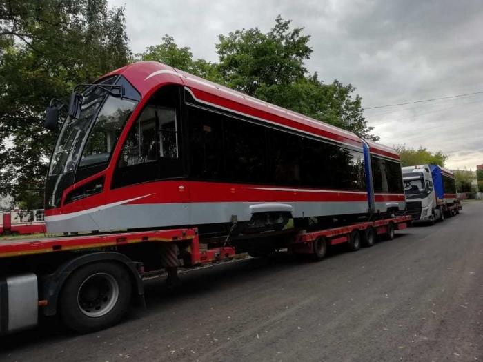Трамваи «Витязь-М» начали поставлять в Санкт-Петербург по контракту 2019 года