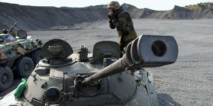 Укро-каратели предприняли попытку наступления под Горловкой