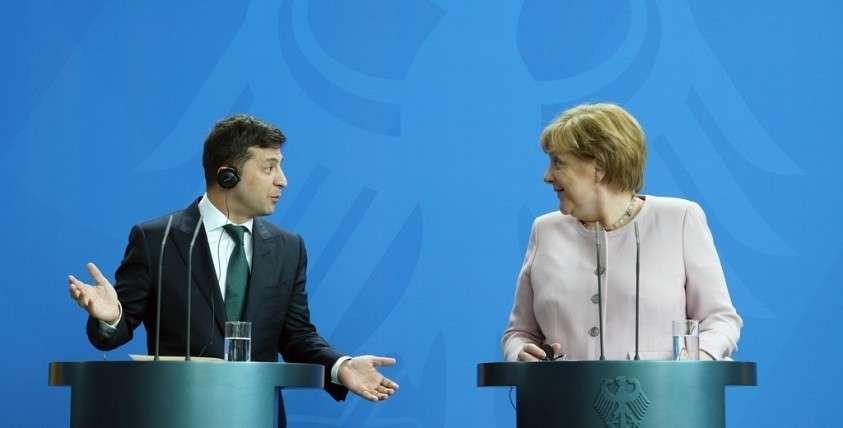 Поддержит ли Меркель Зеленского в борьбе против США?
