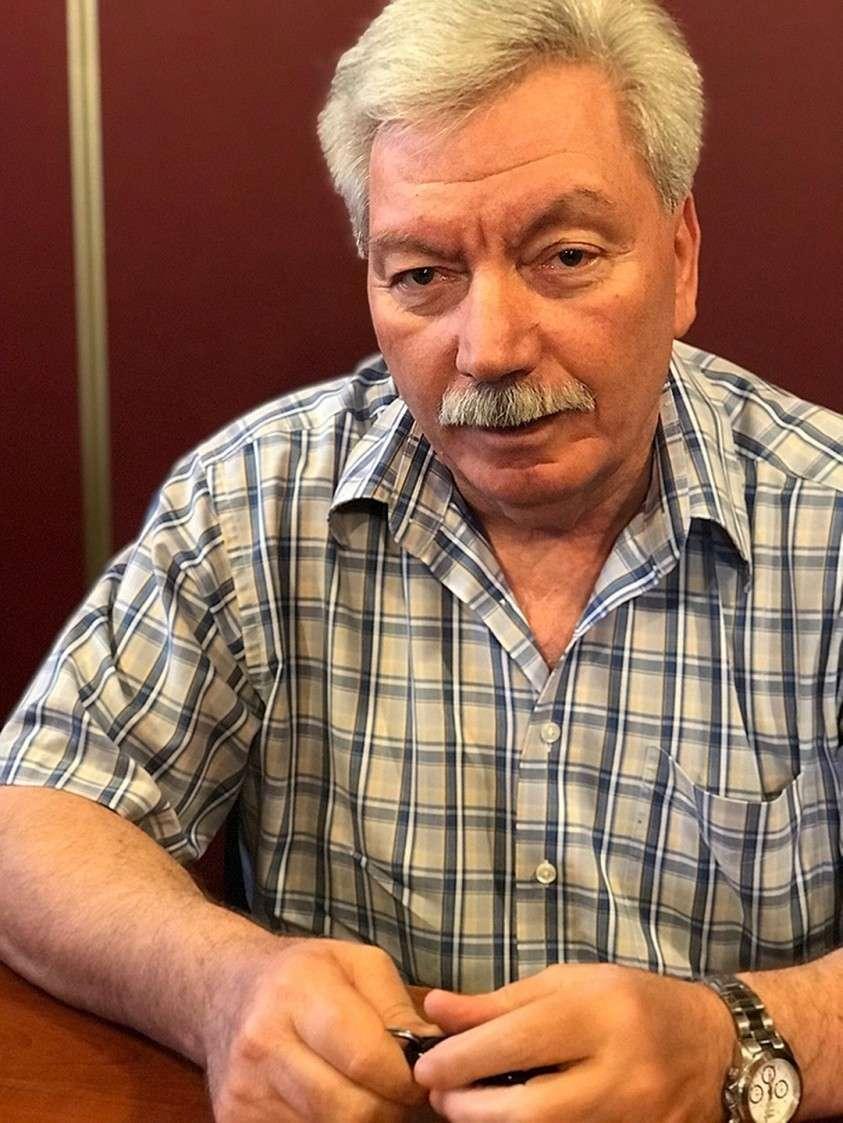 Президент академии национальных и социальных отношений Валерий Кварацхелия Фото: Дина КАРПИЦКАЯ