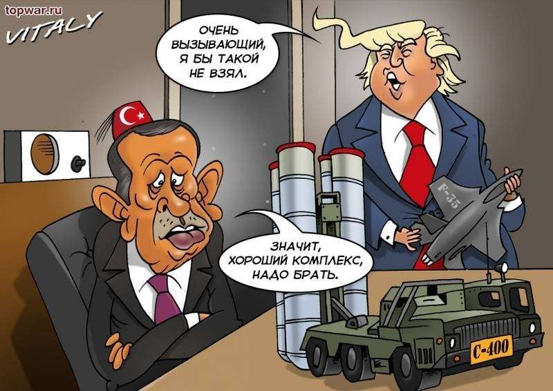Трамп помогает Путину продать Турции больше 100 российских боевых самолётов