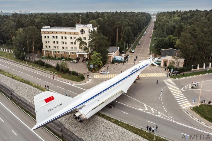 Уникальная операция транспортировки Ту-144 в Жуковском по дорогам общего пользования