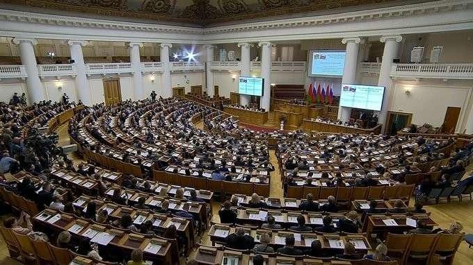 Выступление на VI Форуме регионов России и Белоруссии