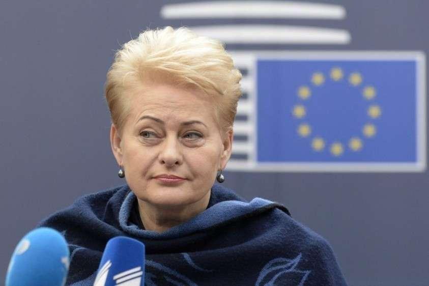 В Литве начали рассказывать правду о сексистке Дале Грибаускайте