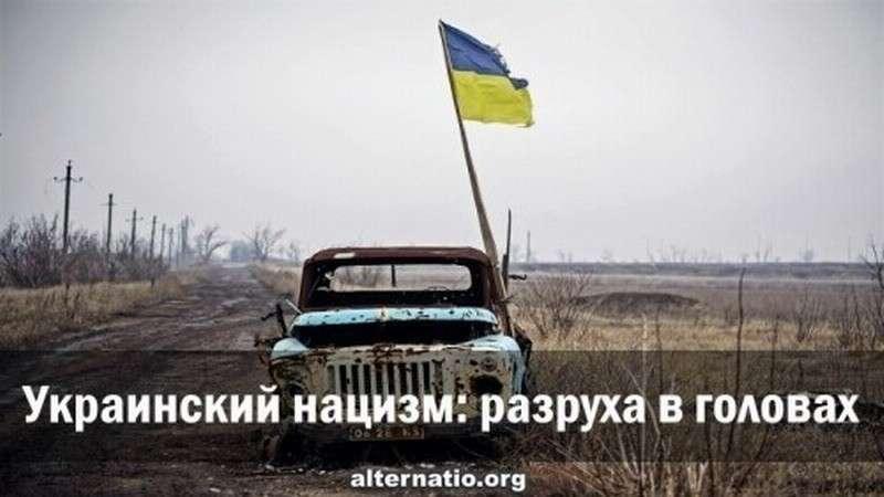 Украинский нацизм – разруха в головах, вирус разрушающий своего носителя