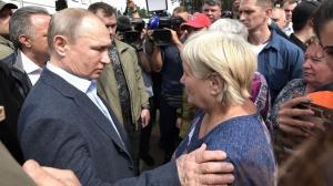 Владимир Путин раскритиковал работу по ликвидации последствий паводка в Иркутской области