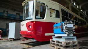 В Петербурге создали трамвай на водородных топливных элементах