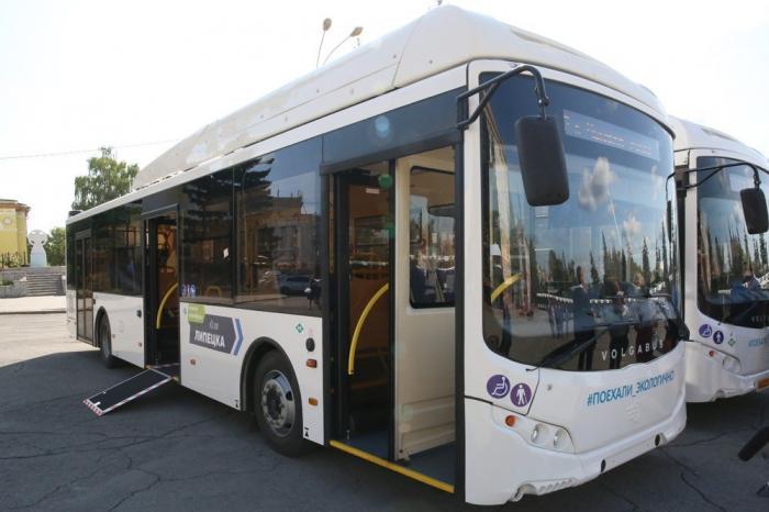 Липецк получил 50 новых автобусов «Волгабас». Обновление автобусов проходит по всей области