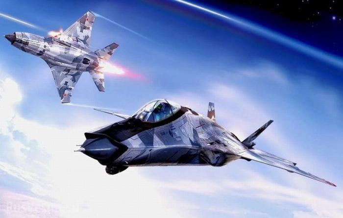 Новый истребитель МиГ-41 способный наносить удары из космоса