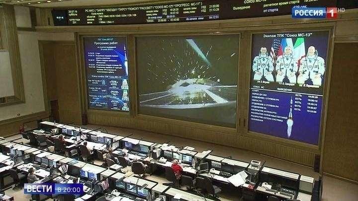 «Союз МС-13» стартовал с Байконура, корабль доставит на МКС экипаж из 3 человек