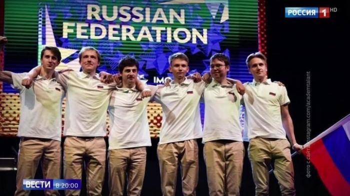 Российские школьники завоевали шесть медалей на математической олимпиаде в Британии