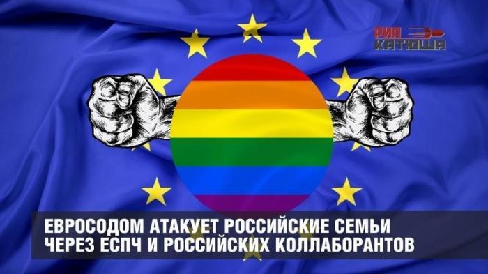 Евро-извращенцы атакуют российские семьи через ЕСПЧ и российских коллаборантов
