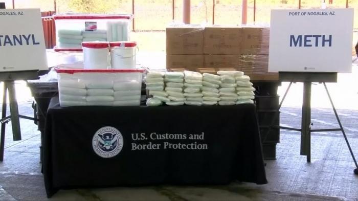 Таможня США изъяла фентанила достаточно, чтобы убить 794 миллионов человек