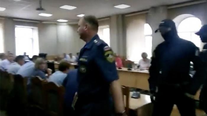 ФСБ задержала майора МЧС Пименова на совещании главы Читы