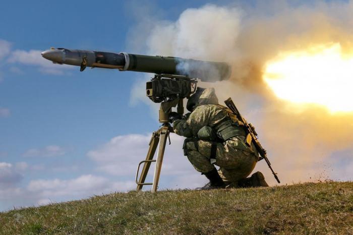 Десантно-штурмовые силы России получили новейшие ПТРК «Корнет» с тепловизорами