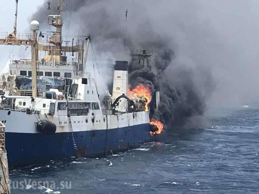 У берегов Мавритании затонул украинский траулер с «чем-то интересным в трюмах»
