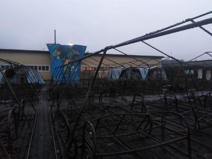 Число пострадавших при пожаре в хабаровском лагере выросло до 12 человек